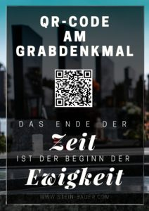QR Code am Grabstein - Erinnerung lebendig halten